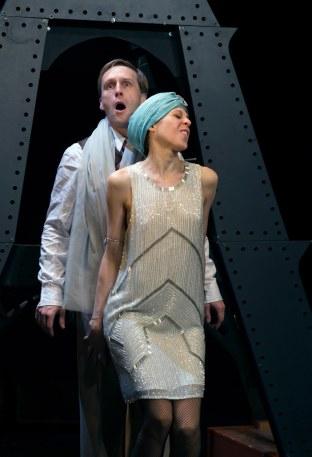 Répétition de la Chatte Bleue au théâtre Clavel (Paris)